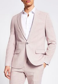 River Island - Blazer jacket - pink - 0