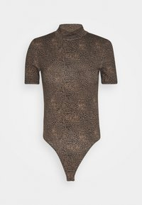 Noisy May - NMNEW KERRY BODYSTOCKING - Body - chicory coffee