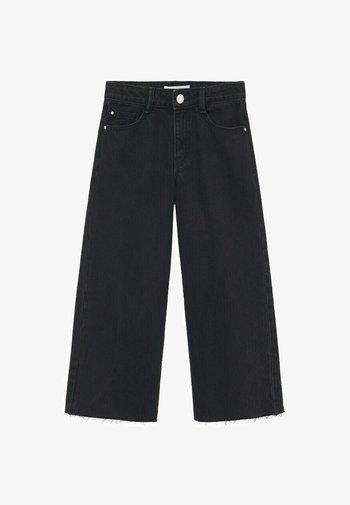 Flared Jeans - sort denim