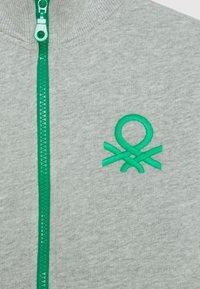 Benetton - Bluza rozpinana - grey - 2