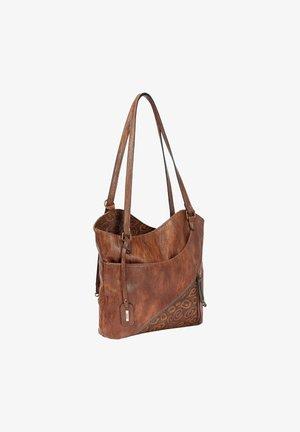 Tote bag - antique nut-chestnut