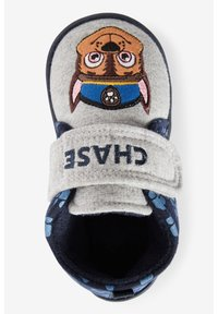 Next - PAW PATROL STRAP TOUCH FASTEN CUPSOLE SLIPPERS - First shoes - grey - 1