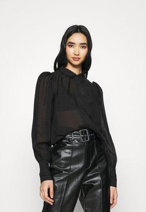 SERENA BLOUSE - Skjorte - black