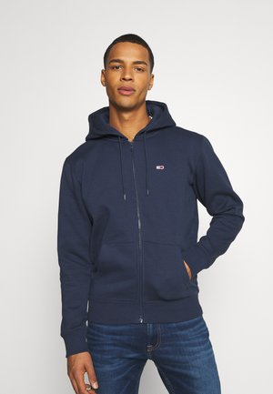 REGULAR ZIP HOOD - Huvtröja med dragkedja - twilight navy