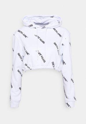 OVERALL PRINT  - Sweatshirt - white