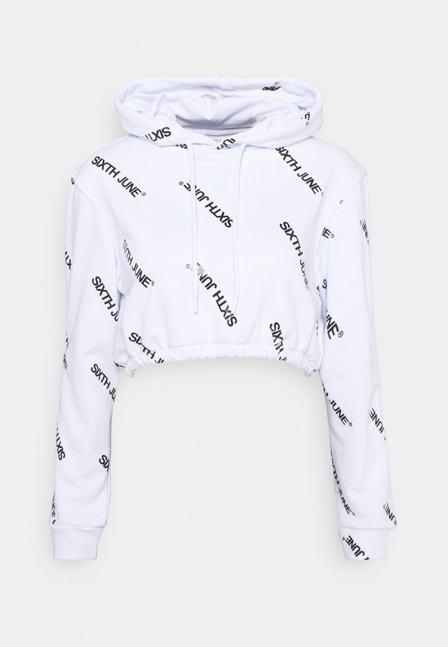 OVERALL PRINT  - Sweater - white