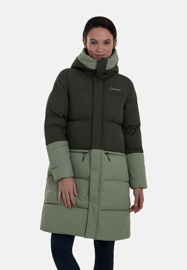 COMBUST REFLECT - Down coat - green