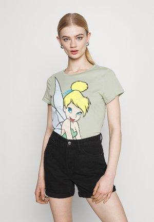ONLDISNEY MIX BOX - Print T-shirt - desert sage/tinker bell
