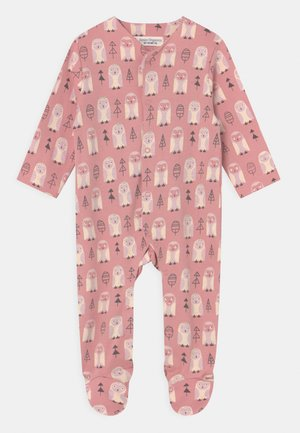 YSIOR RETRO BABY FOOTED ROMPER - Sleep suit - pink