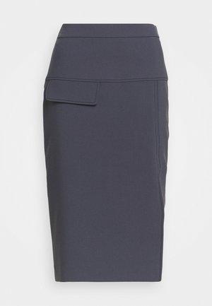 RASUSA - Pencil skirt - dark blue