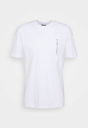 ONSAKI LIFE TEE - T-shirt con stampa - white