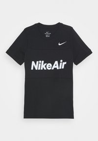 Nike Sportswear - AIR TEE - Print T-shirt - black - 4