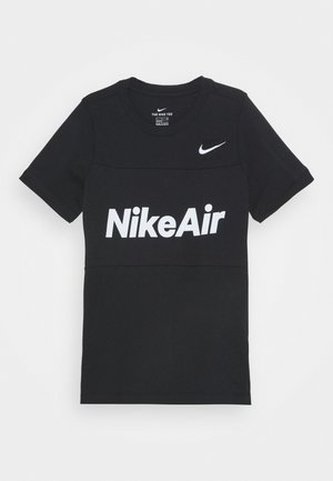 AIR TEE - T-shirt con stampa - black