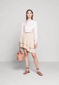 Bruuns Bazaar - LAERA DOLPHINE SKIRT - A-line skirt - sand - 1