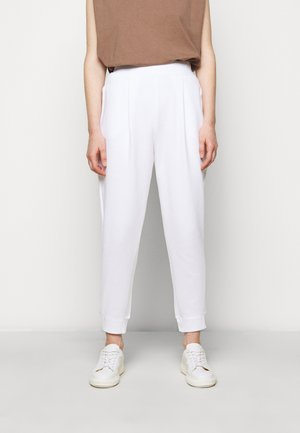 BRIC - Tracksuit bottoms - weiss