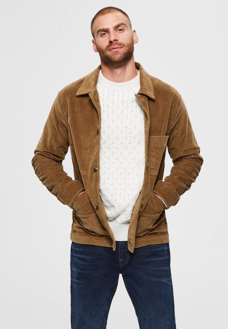 Selected Homme - Summer jacket - camel