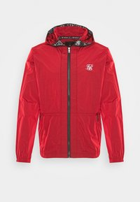 SIKSILK - ZIP THROUGH WINDBREAKER JACKET - Giacca leggera - red - 3