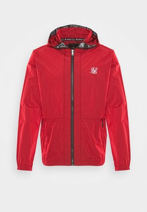 ZIP THROUGH WINDBREAKER JACKET - Leichte Jacke - red