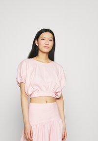 Mossman - THE DAY BREAK - Basic T-shirt - pink - 0