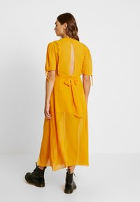 Topshop - EYETLET DETAIL COWL MIDI - Day dress - colour - 3