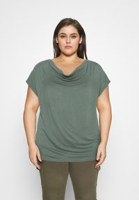 Anna Field Curvy - Print T-shirt - green - 0