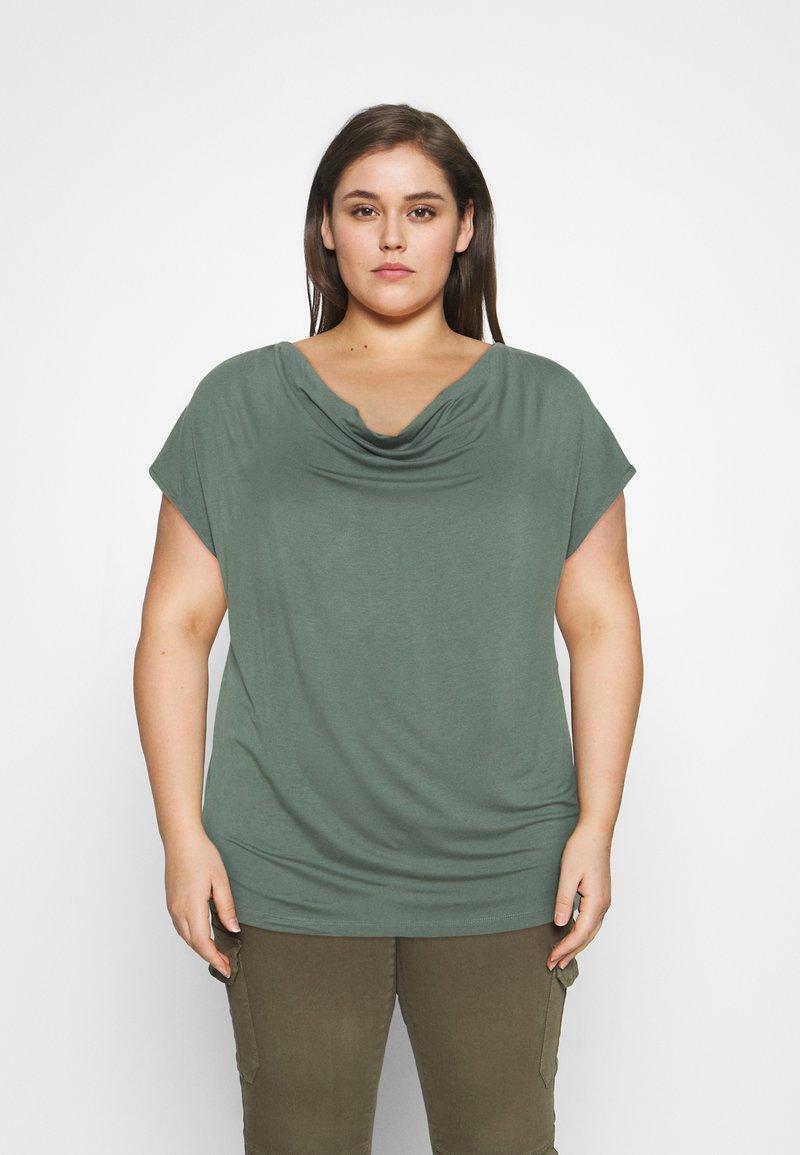 Anna Field Curvy - Print T-shirt - green
