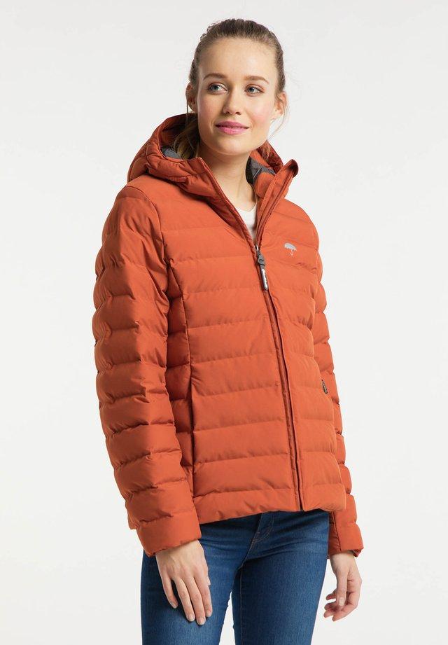 Zimní bunda - rotbraun