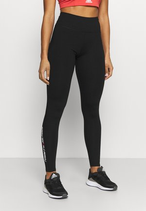 GRAPHIC LEGGING - Punčochy - black