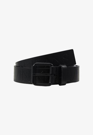 LOGO EMBOSSED BELT - Ceinture - black