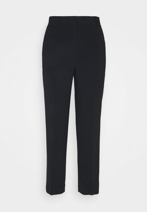 DETAIL CROP PANT - Trousers - black