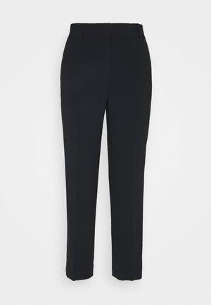 DETAIL CROP PANT - Kalhoty - black