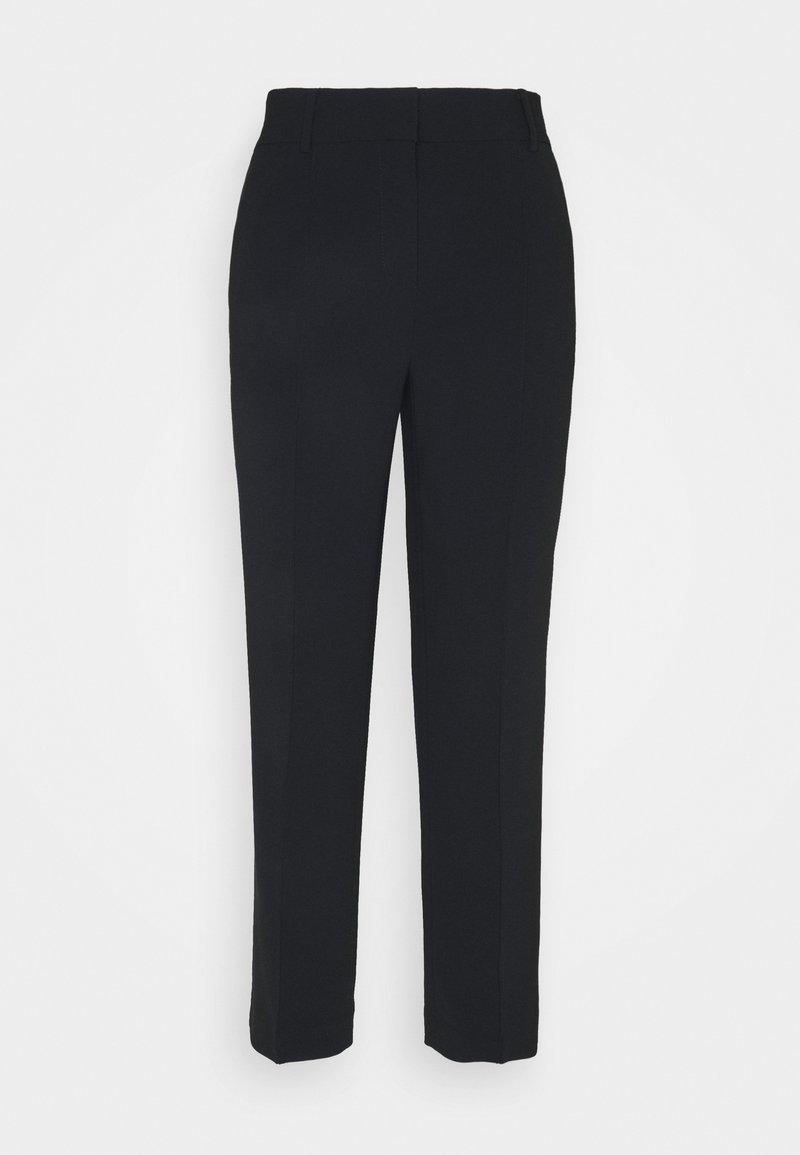 MICHAEL Michael Kors - DETAIL CROP PANT - Trousers - black