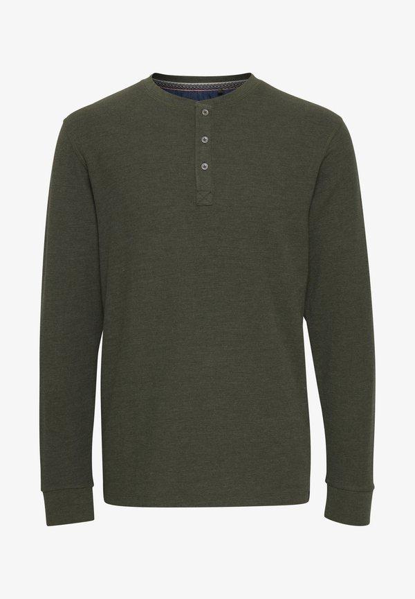 Blend TEE - Bluzka z długim rękawem - dusty olive/oliwkowy Odzież Męska UCXG