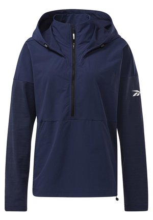 UNITED BY FITNESS CONTROL HOODED JACKET - Windbreaker - blue