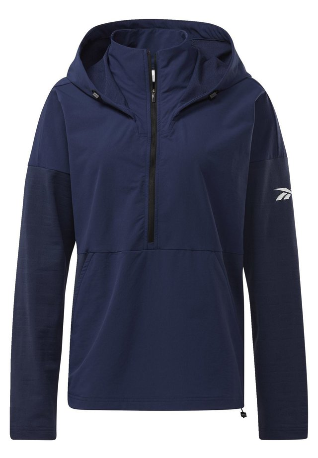 UNITED BY FITNESS CONTROL HOODED JACKET - Veste coupe-vent - blue