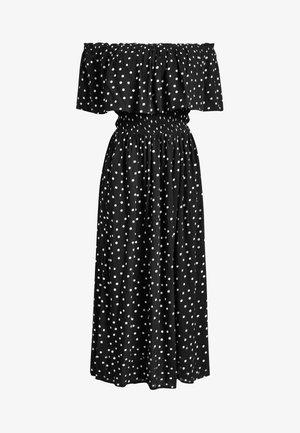SPOT OFF THE SHOULDER  - Day dress - black