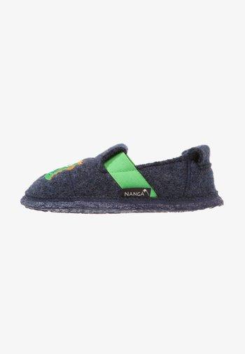 MONSTER - Slippers - blau