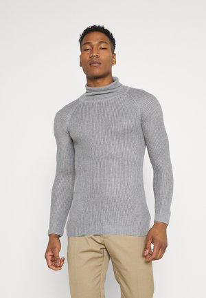 GREENFORDA - Jumper - silver grey marl