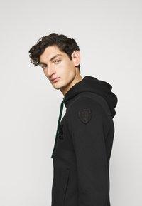 Blauer - APERTA CAPPUCCIO - Zip-up hoodie - black - 4