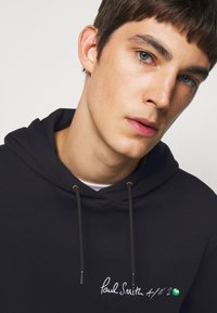 Paul Smith - EMBROIDERED AND PRINTED HOODY - Hoodie - black - 3