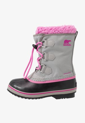 YOOT PAC - Winter boots - chrome grey/orchid