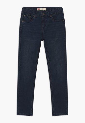 SKINNY TAPER - Jeans Skinny Fit - dark-blue denim