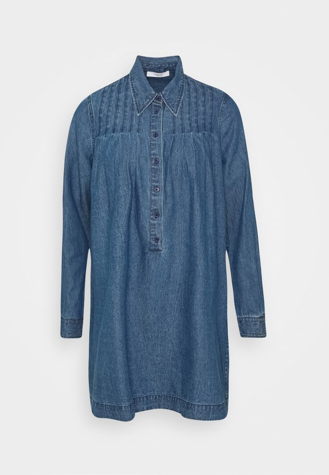 BRAXTON - Jeanskjole / cowboykjoler - denim blue