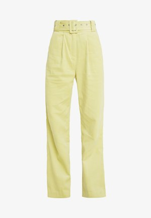 ELISA - Trousers - lemon grass