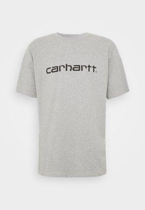 SCRIPT - Print T-shirt - grey heather/black