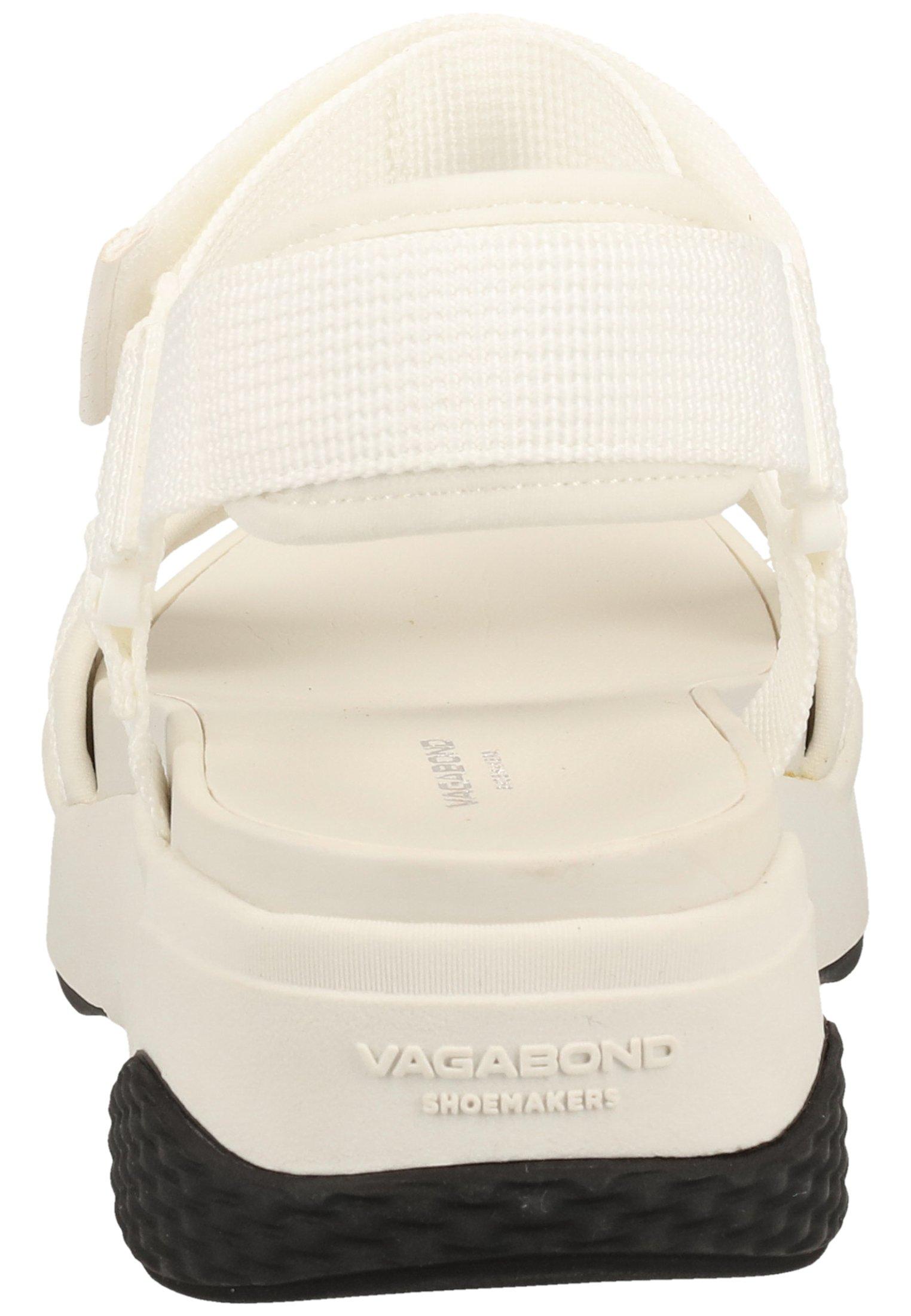 Vagabond Sandalen Met Plateauzool - White 1