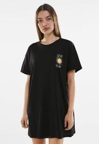 Bershka - Day dress - black - 0