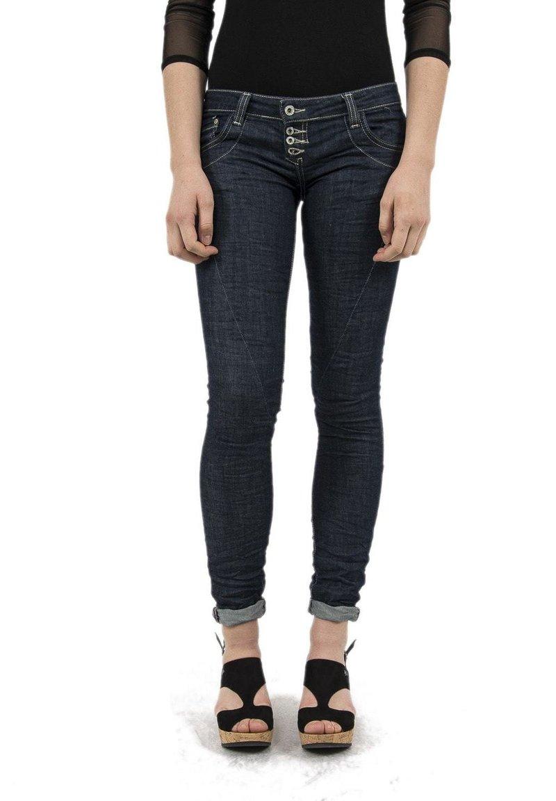 PLEASE - Slim fit jeans - bleu