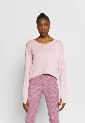MIDLAYER FEMME - Langærmede T-shirts - pink oxford/metallic gold