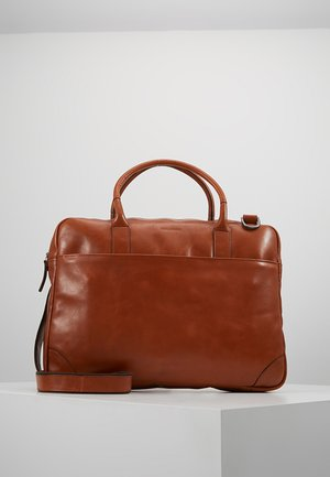 EXPLORER LAPTOP BAG SINGLE - Aktentasche - cognac
